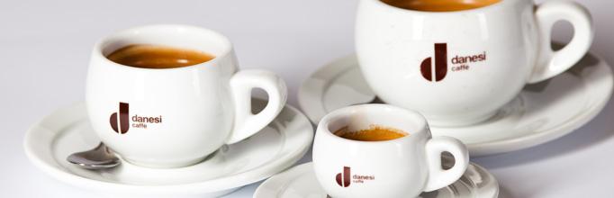 Nabízené kávy jsou italské značky Danesi s letitou tradicí.